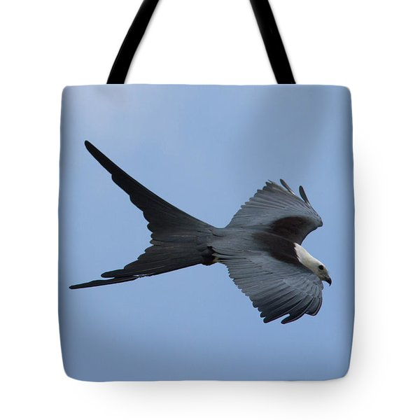 Swallow-tailed Kite #1 Tote Bag by Paul Rebmann