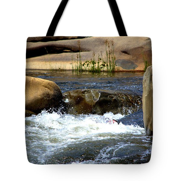 Swallowed Alive Tote Bag