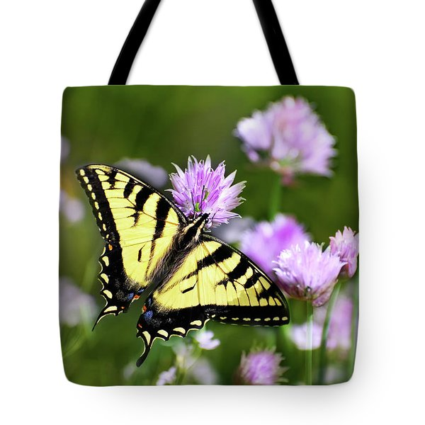Swallowtail Butterfly Dream Tote Bag by Christina Rollo