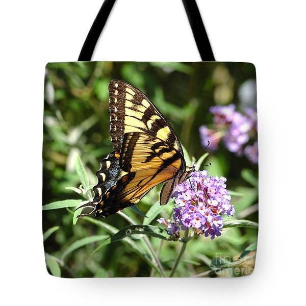 Swallowtail Feeding Tote Bag