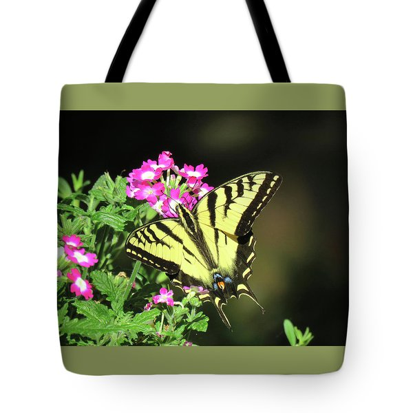 Swallowtail In The Garden 1 - Visions Of Spring Tote Bag