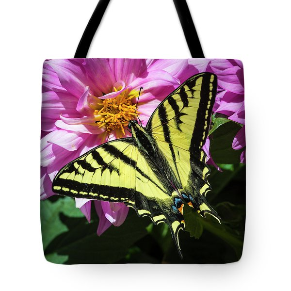 Tote Bag featuring the photograph Swallowtail by Mark Mille
