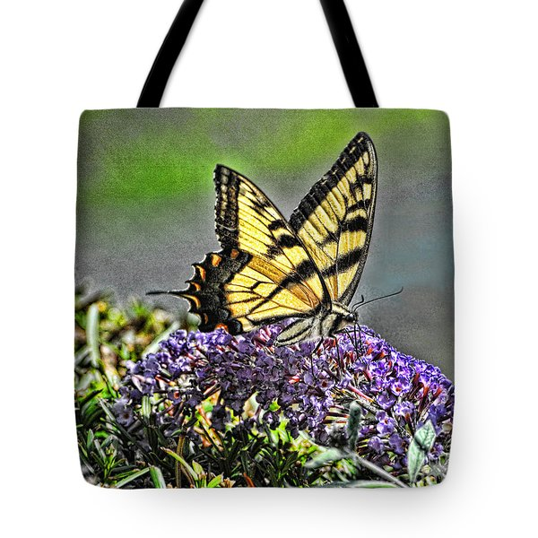 Swallowtail Pastel Tote Bag