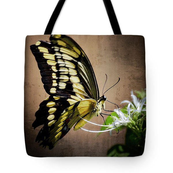 Swallowtail Tote Bag by Saija  Lehtonen