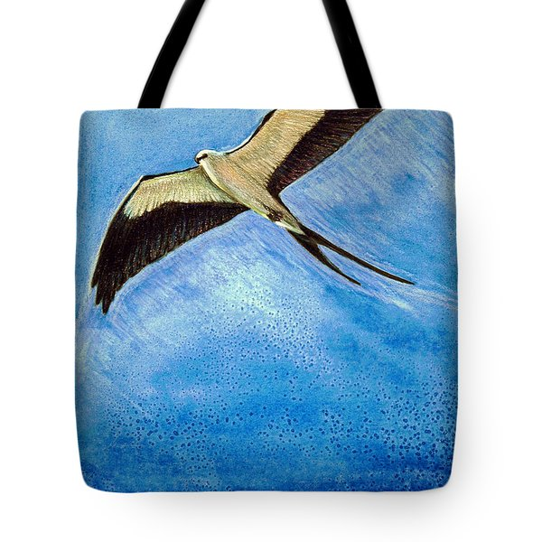 Swallowtail Sighting Tote Bag by Suzanne McKee