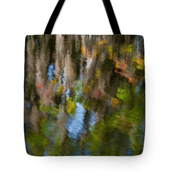 Swamp Colors Tote Bag by Carolyn Dalessandro