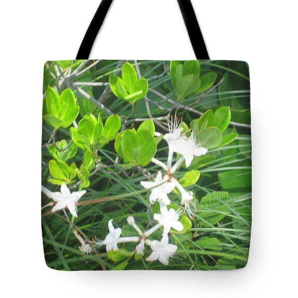 Swamp Honeysuckle Tote Bag