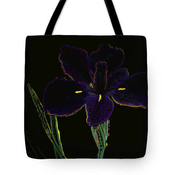 Swamp Iris Louisiana Tote Bag