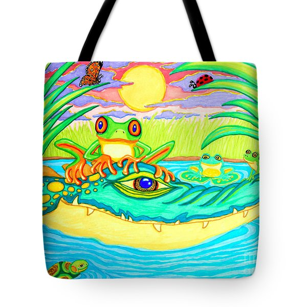 Swamp Life Tote Bag by Nick Gustafson