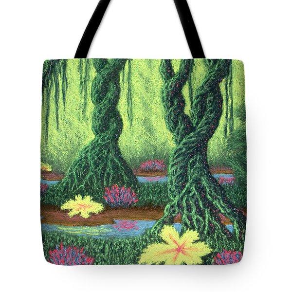 Swamp Things 02, Diptych Panel B Tote Bag