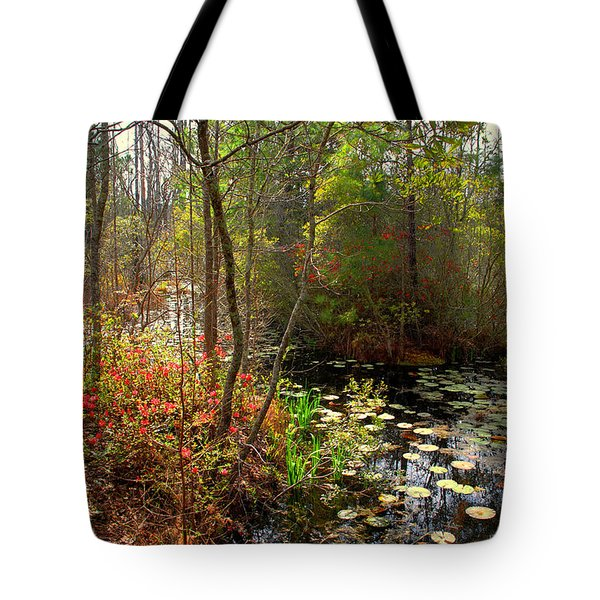 Swamps In Sc Tote Bag by Susanne Van Hulst