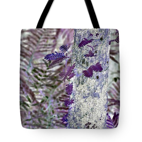 Ferns Of A Different Color Tote Bag