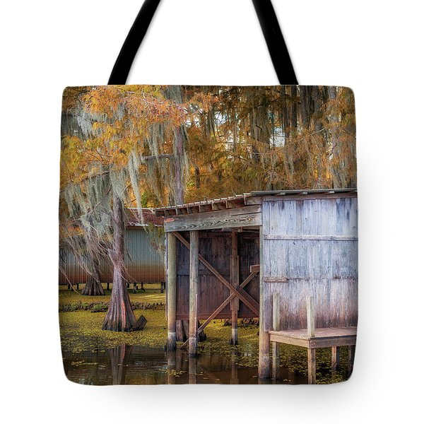 Swampy Dock  Tote Bag