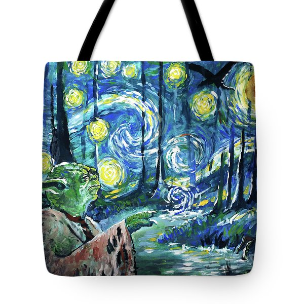 Swampy Night Tote Bag by Tom Carlton