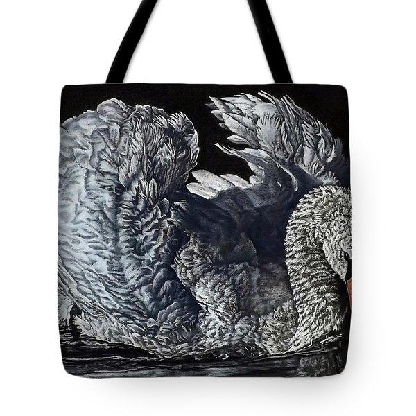 Swan #2 Tote Bag
