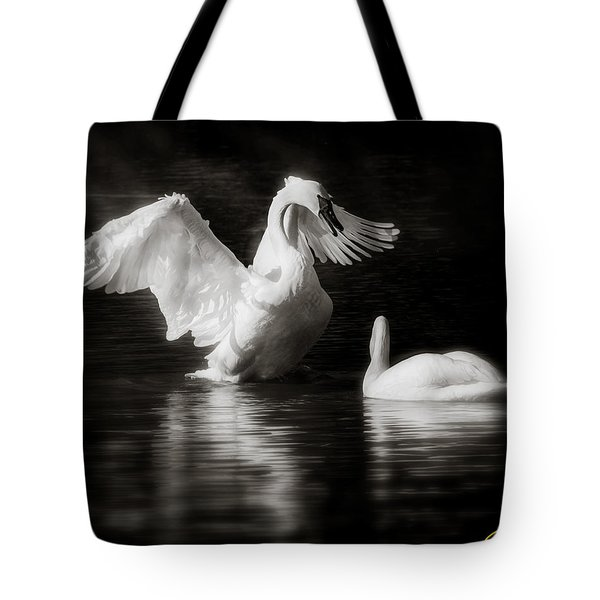 Swan Display Tote Bag