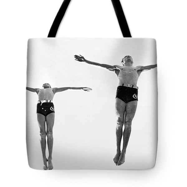 Swan Dive Together Tote Bag