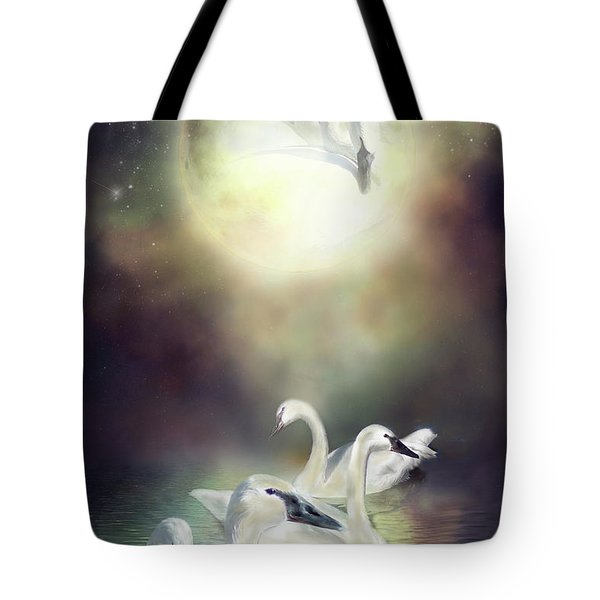 Swan Dreams Tote Bag