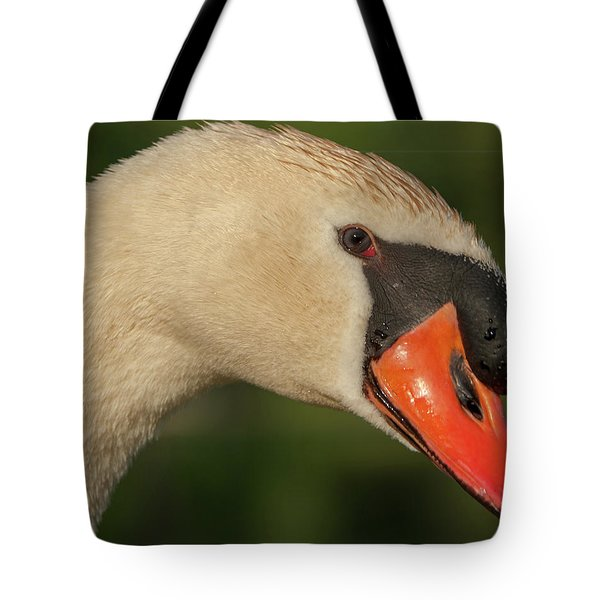 Swan Headshot Tote Bag