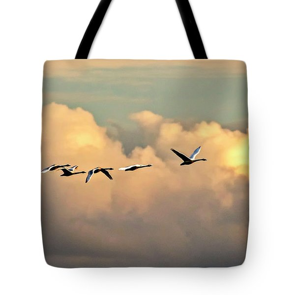 Swan Heaven Tote Bag