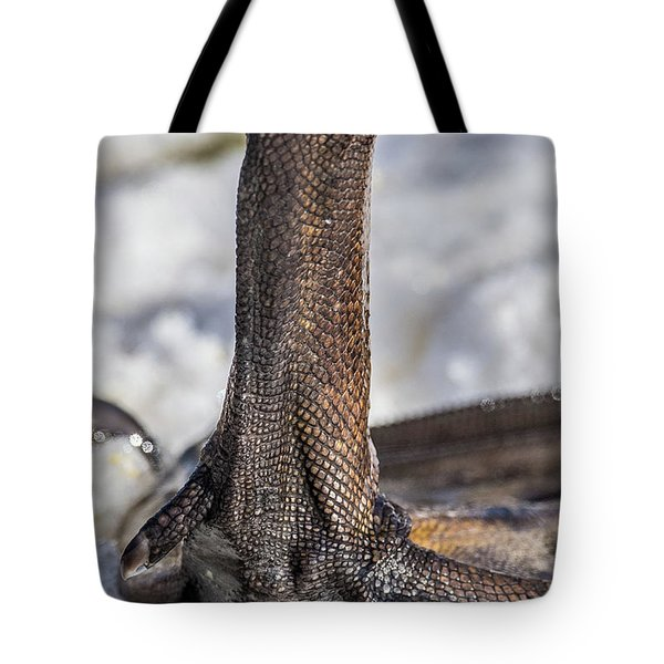Tote Bag featuring the photograph Swan Leg by Paul Freidlund