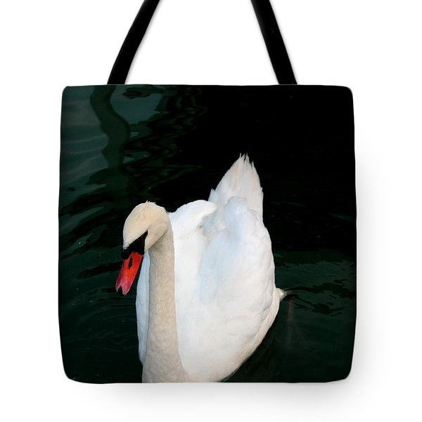 Swan Song By Earl's Photography Tote Bag