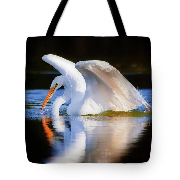 Swanlike Tote Bag