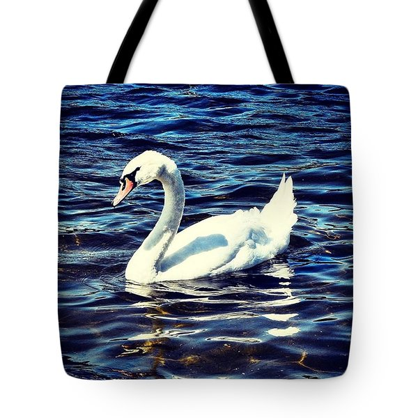 Swann Of A Beauty Tote Bag
