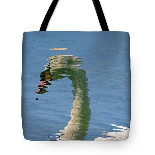 Swanreflection Tote Bag