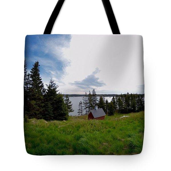 Swans Island Bay Tote Bag