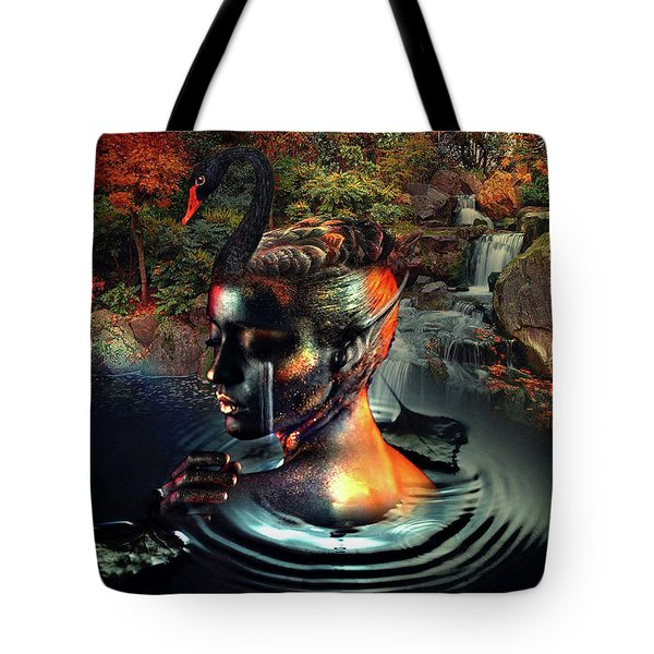 Swan's Pond Tote Bag