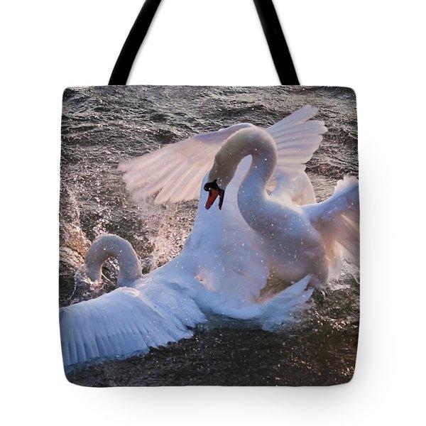 Nuptial Dance 3 Tote Bag