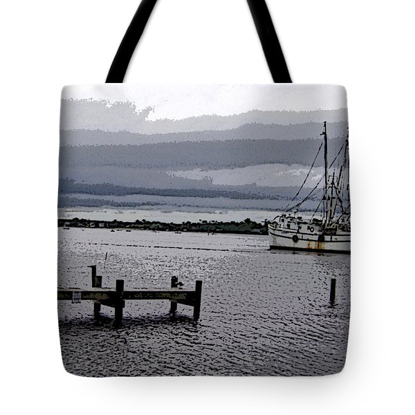 Tote Bag featuring the photograph Swansboro Harbor by Skyler Tipton