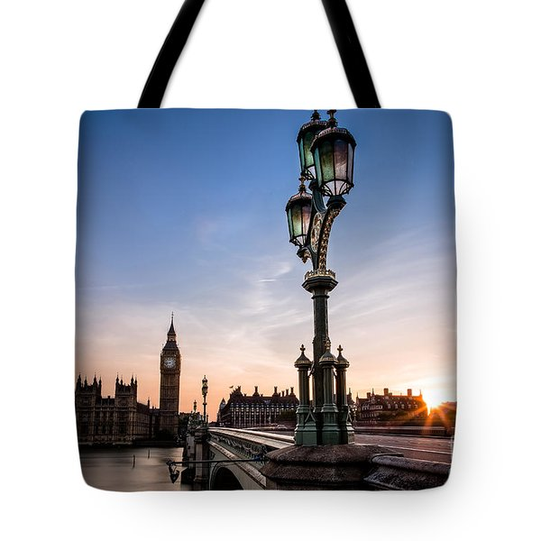 Swapping Lights Tote Bag