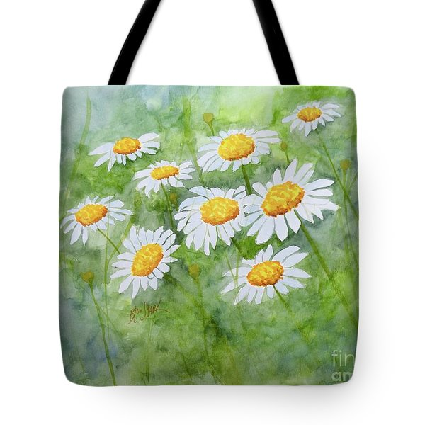 Swaying Daisies  Tote Bag