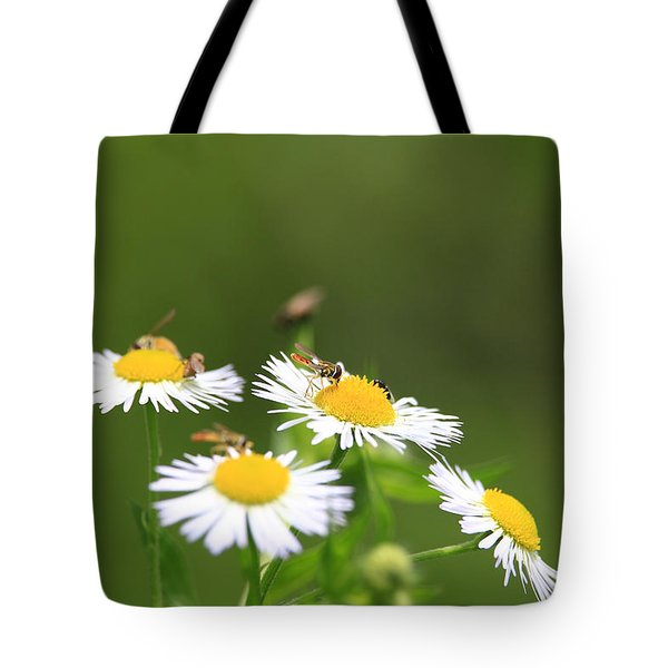 Sweat Bee Tote Bag