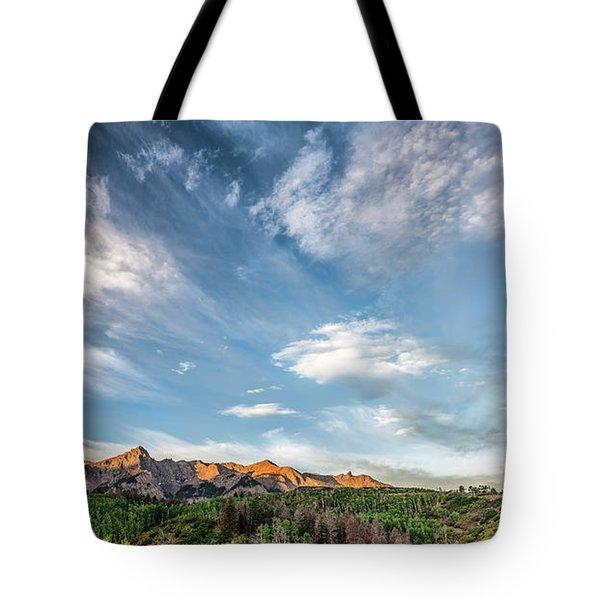 Sweeping Clouds Tote Bag