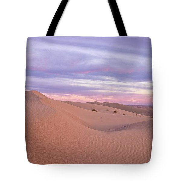 Tote Bag featuring the photograph Sweeping Dunes At Sunset by Patricia Davidson
