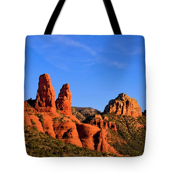 Tote Bag featuring the photograph Sweeping Sedona by Mark Myhaver
