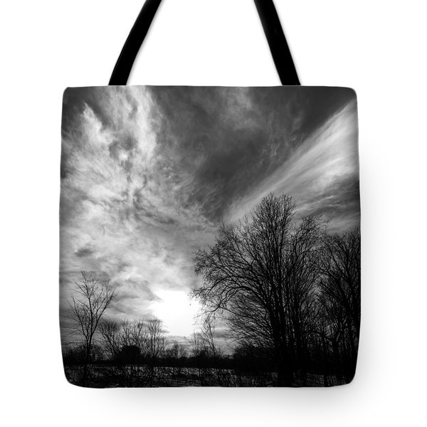Sweeping Sky Tote Bag