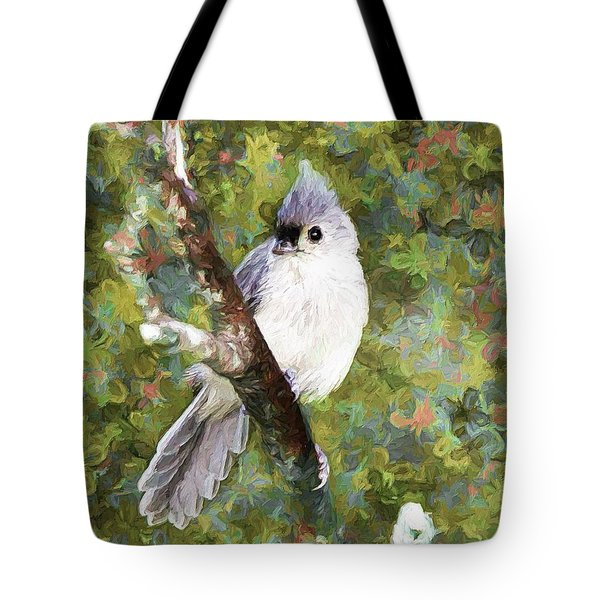 Sweet And Endearing Tote Bag by Tina  LeCour