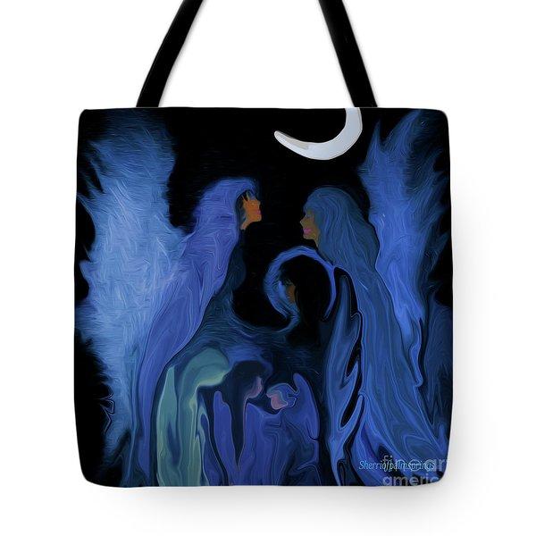 Sweet Angelfamily Tote Bag