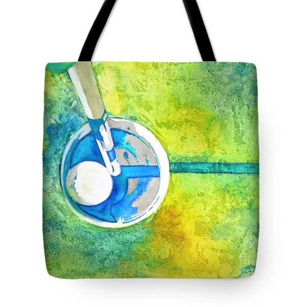 Sweet Anticipation - Golf Series Tote Bag by Betty M M Wong