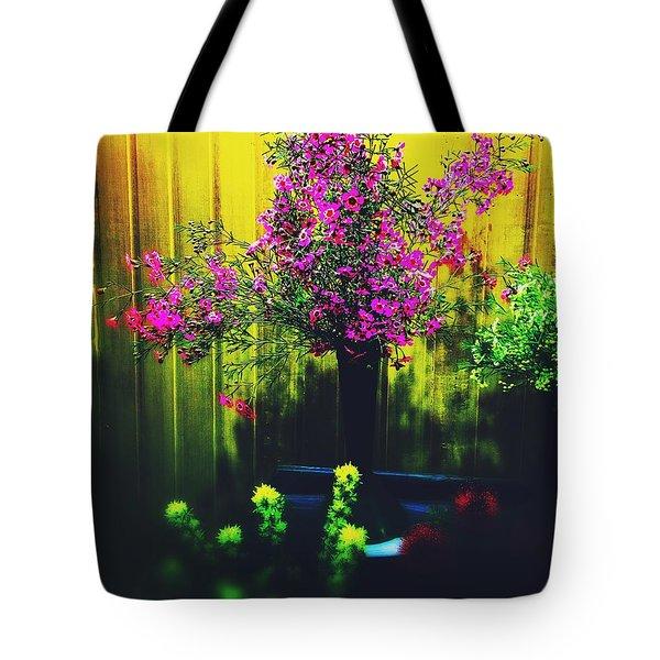 Sweet Boronia Tote Bag by Blair Stuart