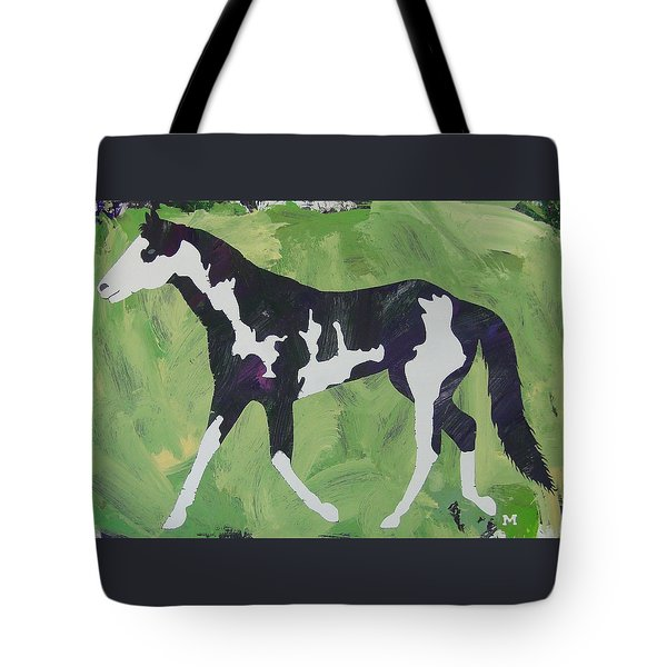 Tote Bag featuring the painting Sweet Caroline by Candace Shrope