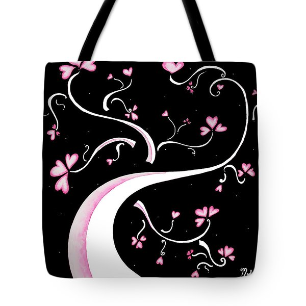 Sweet Charity By Madart Tote Bag by Megan Duncanson