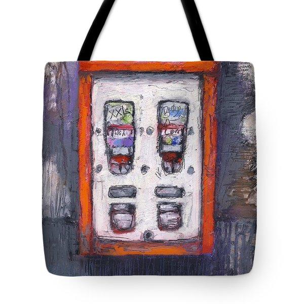 Sweet Childhood Memories,bubblegum Machine Tote Bag by Martin Stankewitz