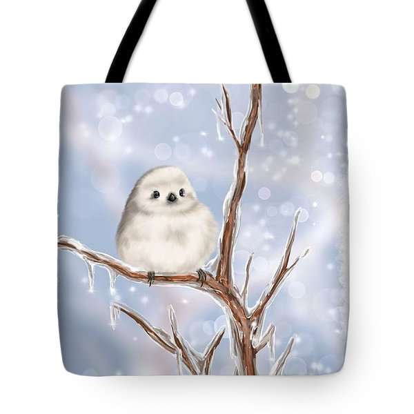 Tote Bag featuring the painting Sweet Cold by Veronica Minozzi