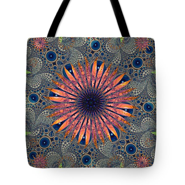 Sweet Daisy Chain Tote Bag by Jim Pavelle