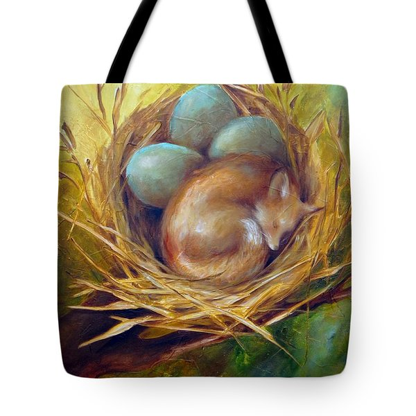 Tote Bag featuring the painting Sweet Dreams by Dina Dargo